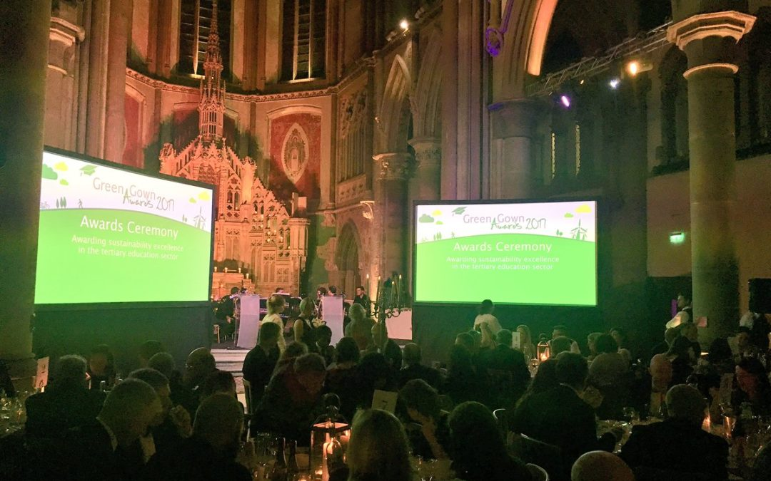 ADSM and The University of Cumbria, declared finalists at the Green Gowns 2017